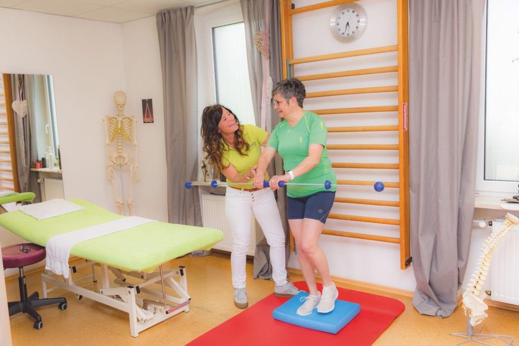 Behandlung - Physiotherapie Adenau Doris Adriany